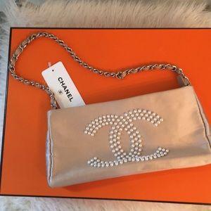 Chanel satin bag